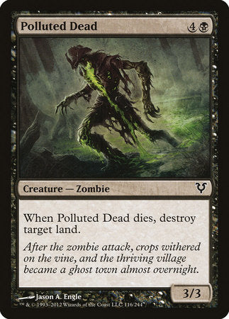 Polluted Dead [Avacyn Restored]