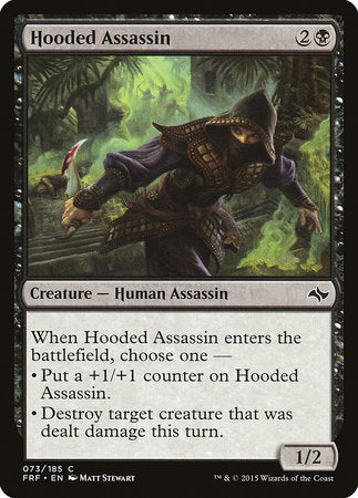 Hooded Assassin [Fate Reforged]