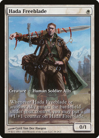 Hada Freeblade [Worldwake Promos]