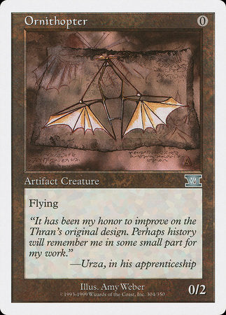 Ornithopter [Classic Sixth Edition]
