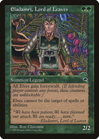 Eladamri, Lord of Leaves [Tempest]