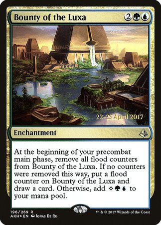 Bounty of the Luxa [Amonkhet Promos]