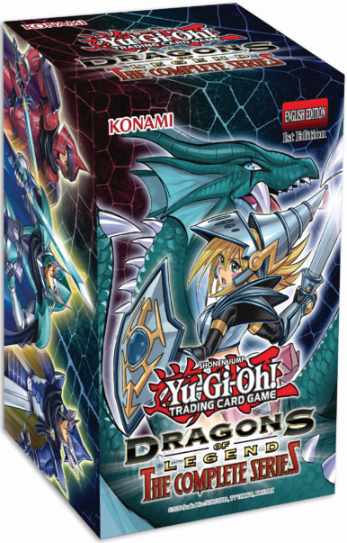 Yugioh - Dragons of Legend - The Complete Series Display Box