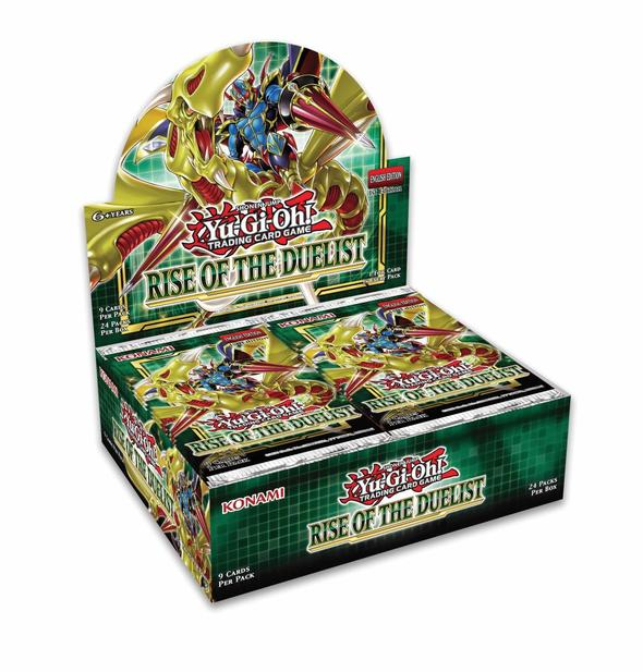 Yugioh - Rise of the Duelist Booster Box