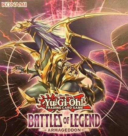 Yugioh - Battles of Legend: Armageddon Booster Box