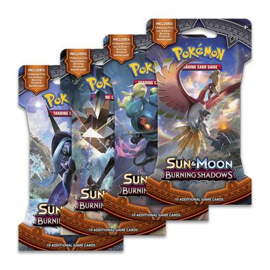 Pokemon - Burning Shadows Sleeved Booster Pack (Bundle of 24)