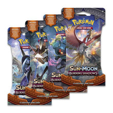 Load image into Gallery viewer, Pokemon - Burning Shadows Sleeved Booster Pack (Bundle of 24)