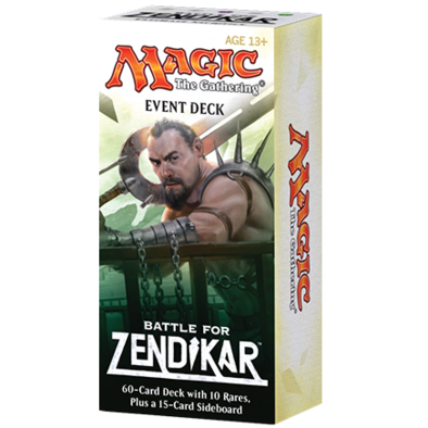 MTG - Battle for Zendikar - Event Deck