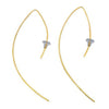 Brass Curves Earrings