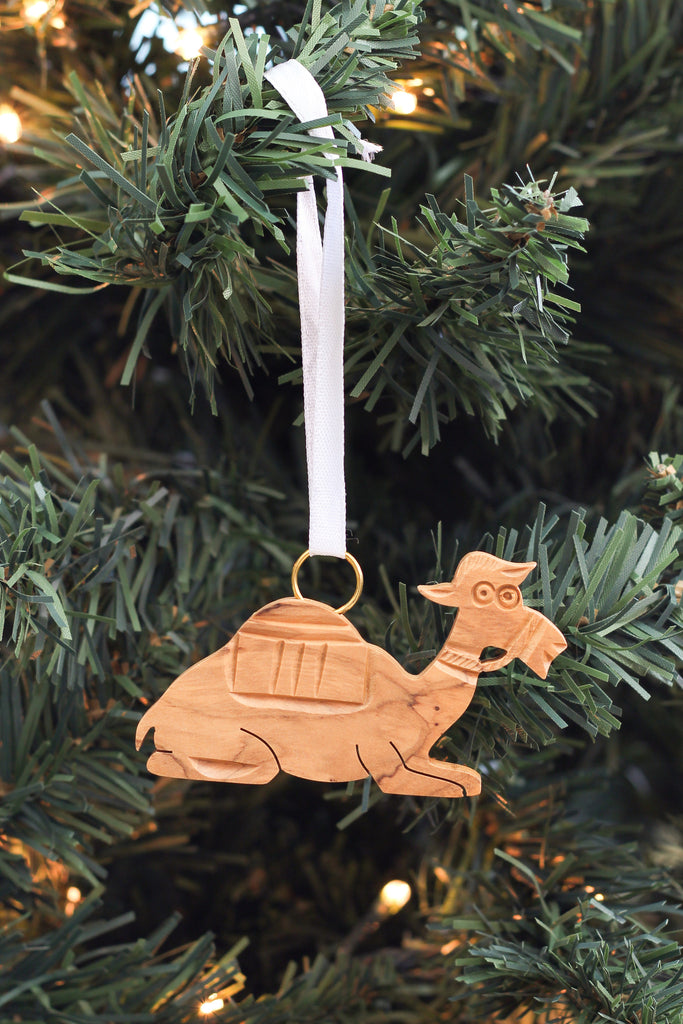 Camel with Harness Ornament