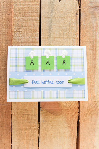 Tissue Boxes - Get Well Card