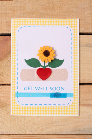 Bandaged Up Get Well Card