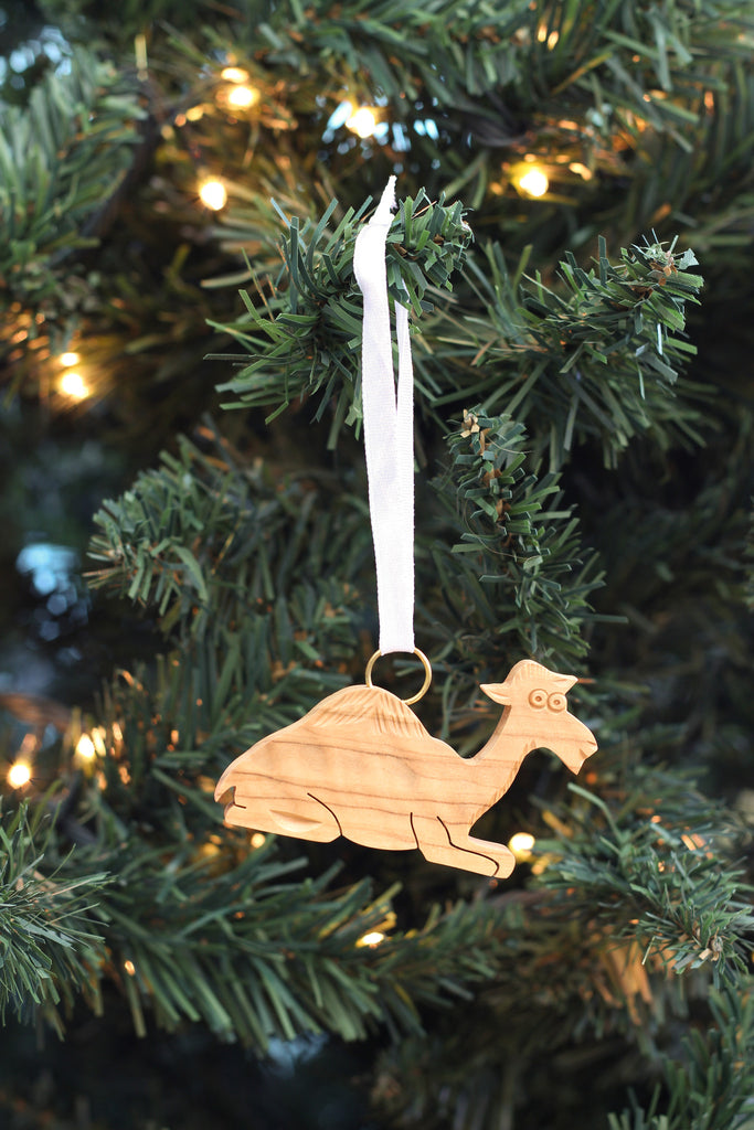 Camel Kneeling Ornament