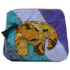 Teal Large Elephant Pouch