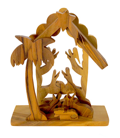 Tabletop Nativity Scene Creche