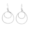 Double Loop - Sterling Silver Earrings