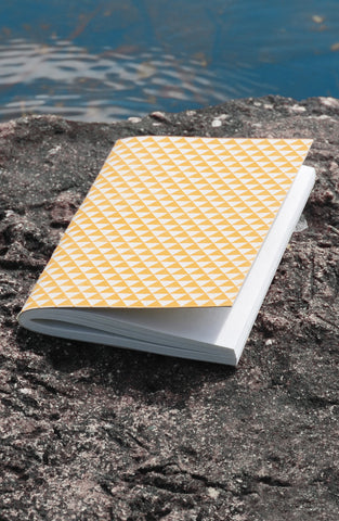 Mustard Triangles Journal