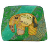 Green Large Elephant Pouch