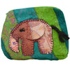 Green Medium Elephant Pouch