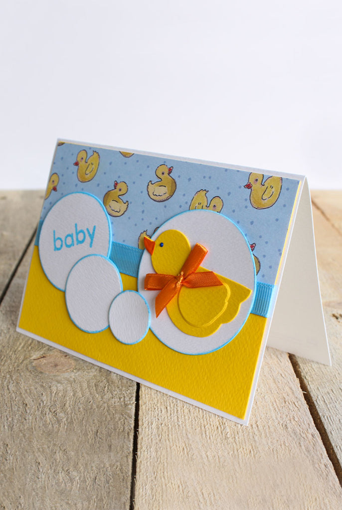 Baby Bubble Duckie Card