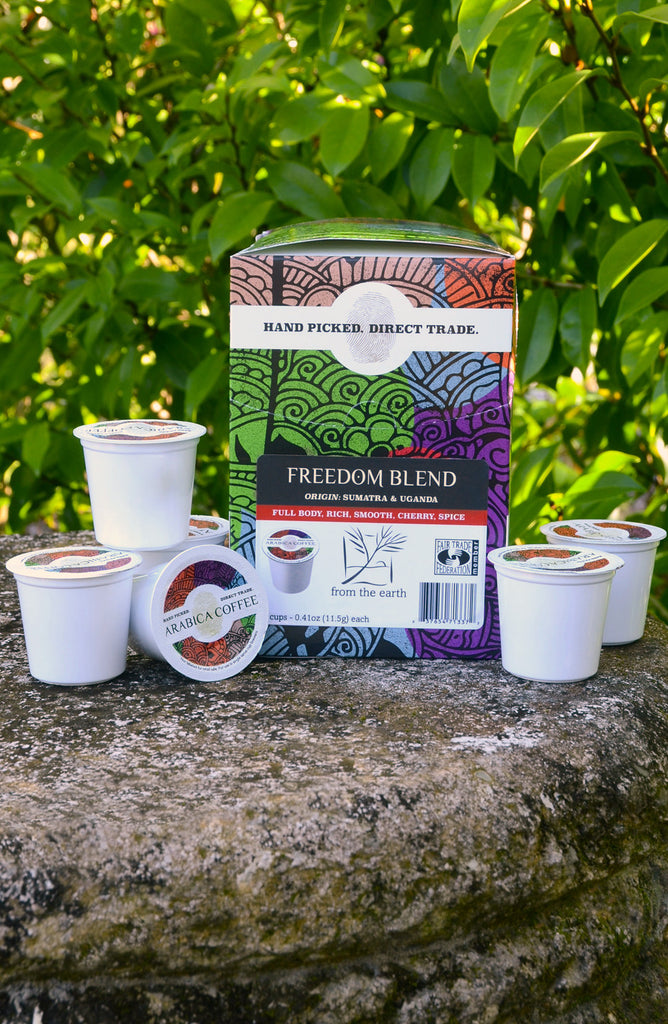 Freedom Blend Coffee Single Serve Cup - Carton of 24