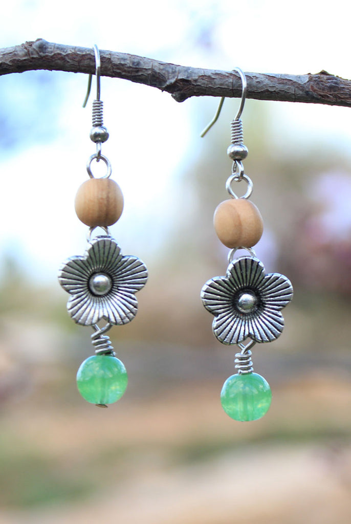 Peeking Blossom Earrings