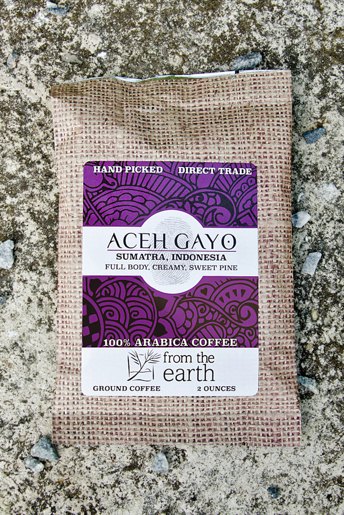 Aceh Gayo Coffee Sample