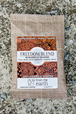 Freedom Blend Coffee Sample