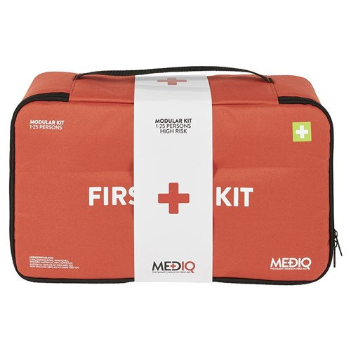 Mediq 1-25 Person High Risk Soft Box First Aid Kit