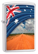 Zippo - Flag and Landscape