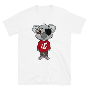 Open image in slideshow, Unruly Citizens Koala Short-Sleeve T-Shirt (multiple colors)