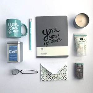 """You Are Not Alone"" Gift Box + Foot Therapy Kit"