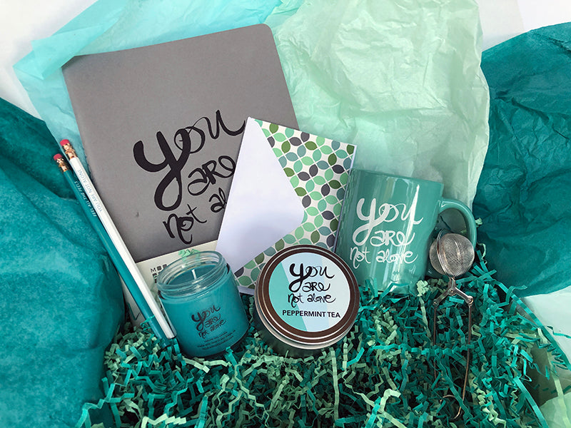"""You Are Not Alone"" Gift Box"