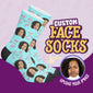 Custom Face Anti-Valentine Socks
