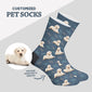 Custom Dog Sock with Bone Print