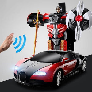 (Limited 70% OFF TODAY!!!)(Free Shipping!!!)-Gesture Sensing Transformation Car Model