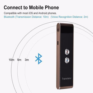 70% OFF TODAY!!! 32+ Languages Portable Instant Voice Translator
