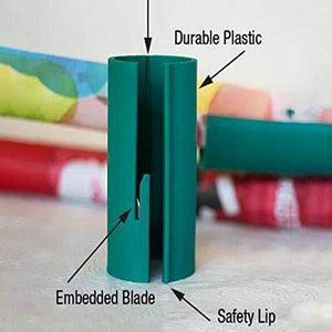 Unique Sliding Wrapping Paper Cutter