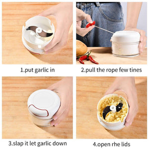 Hand Pull Garlic Chopper - Buy more save more