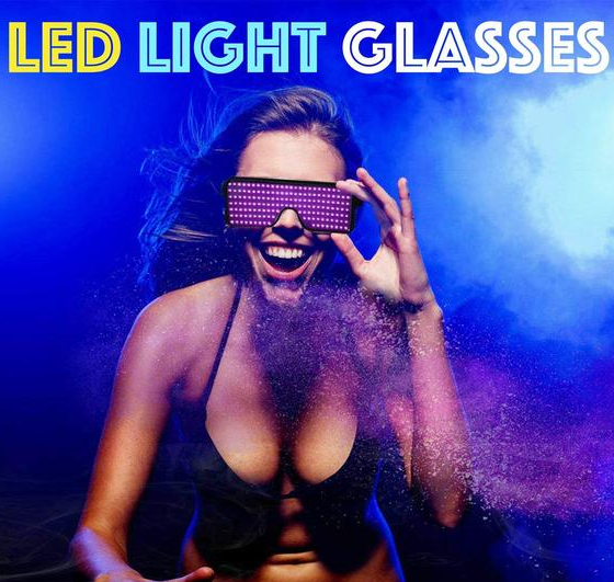 (Limited time 65% off!) 5 Color LED Light Glasses