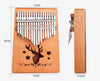 [40% OFF NOW!!!] Gorgeous 17 Keys Kalimba Thumb Piano