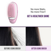(FACTORY OUTLET!!!)BOMBSHELL PORTABLE IONIC HAIR BRUSH