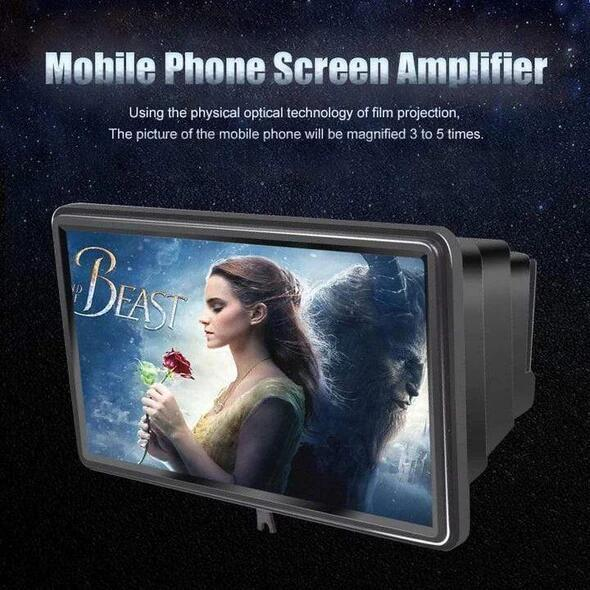 3D Portable Universal Screen Amplifier (Cyber Monday - 50% Off)