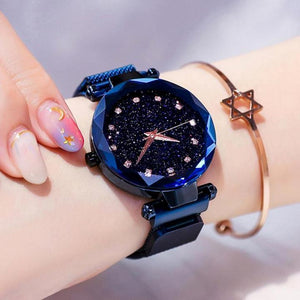 (Only$15.9!!) Four Colors Starry Sky Watch Perfect Gift Idea