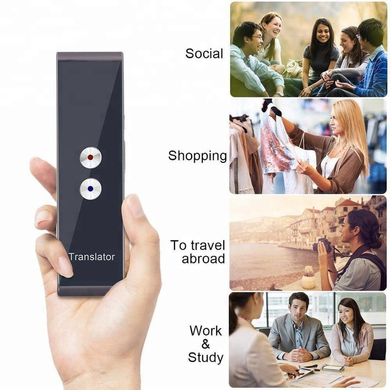 50% OFF TODAY!!! 32+ Languages Portable Instant Voice Translator