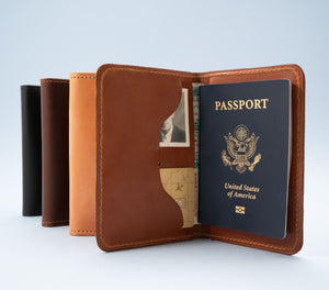 Leather Passport Wallets