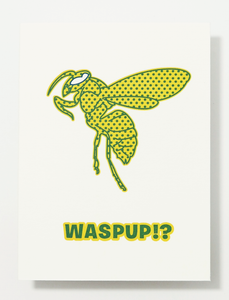 Wasp Up Card