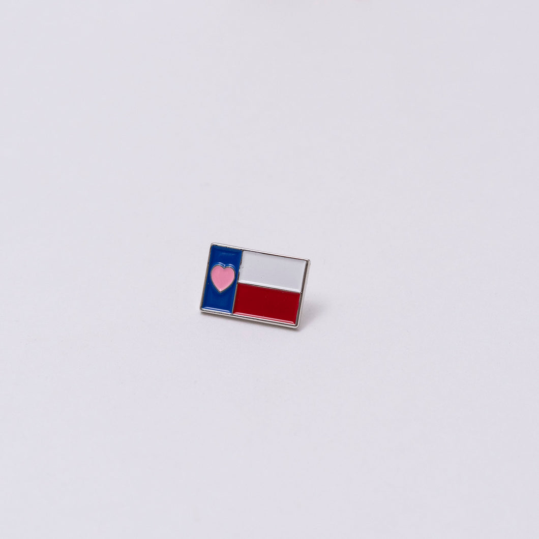Heart of Texas Enamel Pin