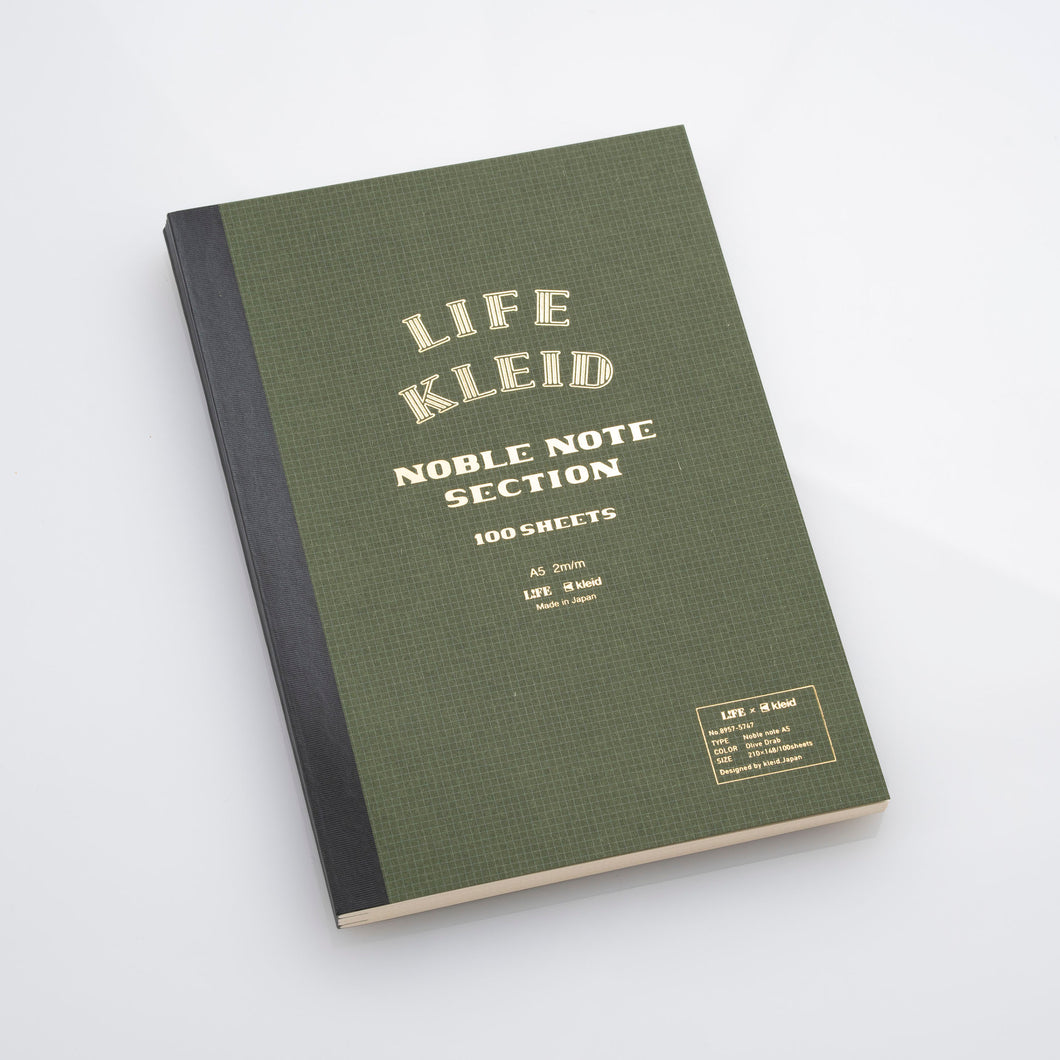 Kleid & Life Notebook with Grid Paper