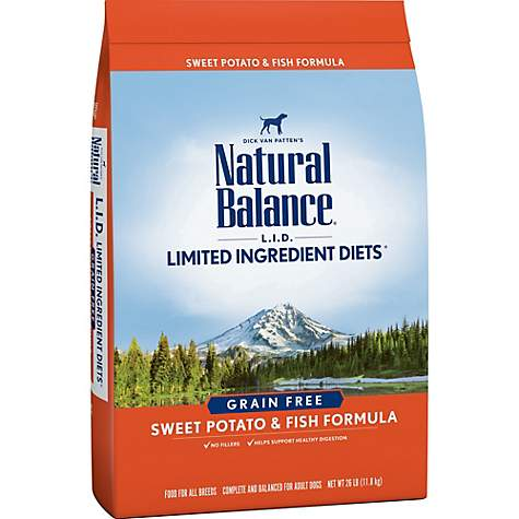 Natural Balance Limited Ingredient Diet Sweet Potato & Fish Dry Dog Food